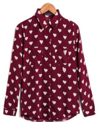 Camisa hearts.