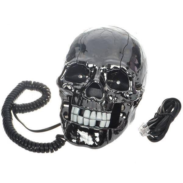 Telefone Caveira negra.